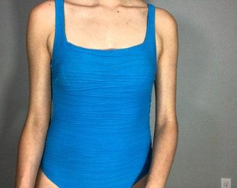 Vintage one piece swimsuit • 80s • 1980s swimsuit