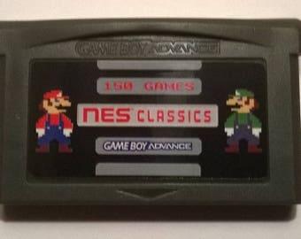 150 NES Classics Game Cartridge for Game Boy Advance GBA