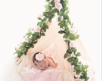teepee, kids teepee, childrens teepee, teepee tent, play tent, photography, nursery decor - FAITH
