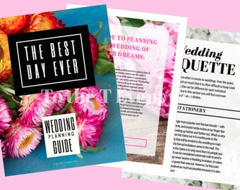 Wedding Planning Guide PRINTABLE