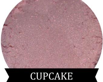 Pink mineral eyeshadow CUPCAKE