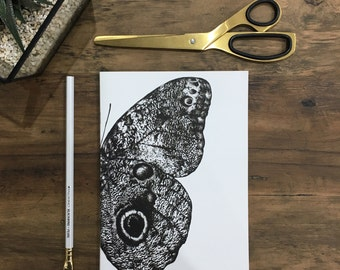 A5 Butterfly Notebook