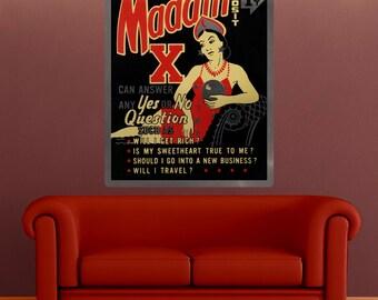 Madam X Fortune Teller Wall Decal - #55193