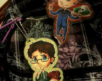 HANNIBAL and WILL GRAHAM Keychains