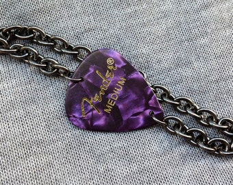 Fender Purple Guitar Pick Bracelet