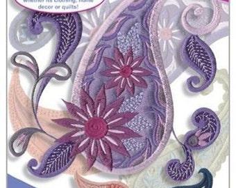 Perfect Paisley Anita Goodesign Embroidery Design CD