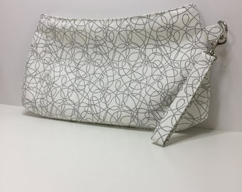 Project bag, zipper bag, clutch, wristlet