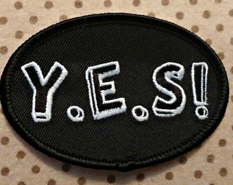 YES! Iron-On Patches