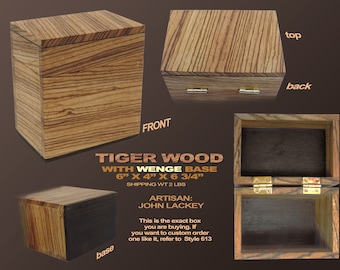 Tiger Wood Box