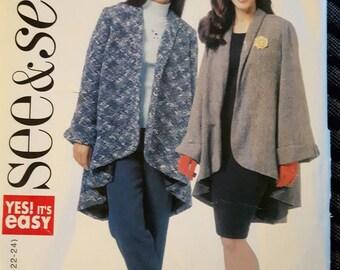 Butterick 5703, Jacket Sewing Pattern