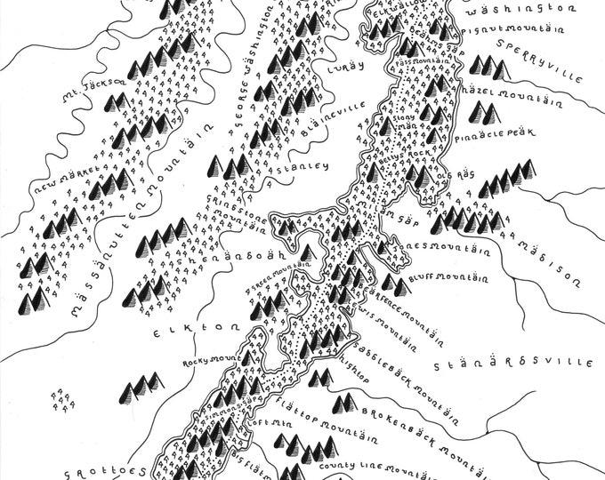 Shenandoah National Park - Giclée Print