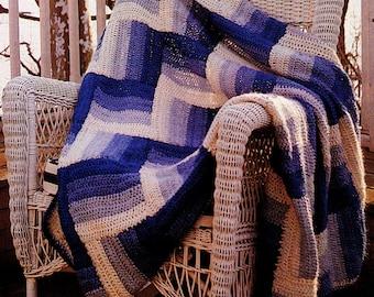 Afghan Crochet Pattern, EASY Crochet Afghan Pattern, Motif Crochet Pattern, Handmade Gift Idea, INSTANT Download Pattern PDF (1016)