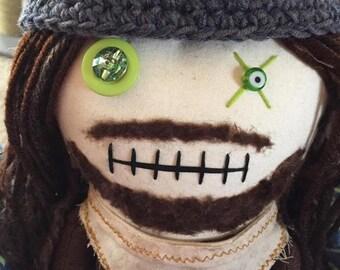 Jesus - Inspired by TWD - Creepy n Cute Zombie Doll (D)