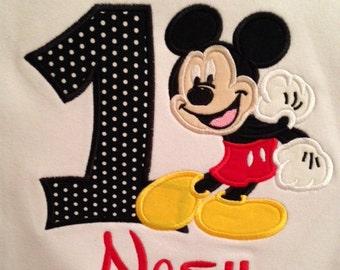 Mouse Birthday Shirt