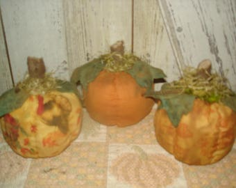 Set of 3 Pumpkins, Pumpkins, Fall, Autumn, Halloween, Thanksgiving, Ofg, Faap, Hafair, Dub