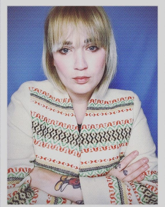 "Vintage Women's Embroidered Jacket Size Medium 20"" width 25"" length"