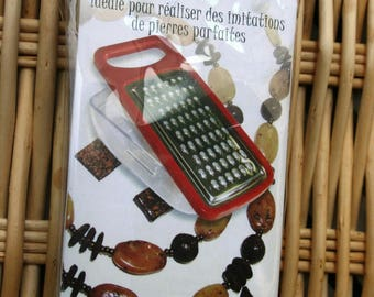 Grater for type polymer