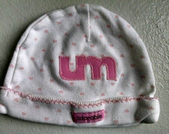 Umphrey's McGee Hat ~ Baby Girl Hat ~ Pink Baby Hat ~ Newborn Hat ~ Glow in the Dark ~ One of a Kind ~ Adorable Hat