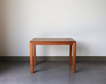 Sold *** Vintage Mobelfabrik Wooden Side Table / End Table - Made in Denmark