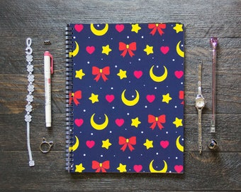 Large Monthly Planner (120 Pages) | 24 Months | No Weekly Pages | On Behalf of the Moon Planner