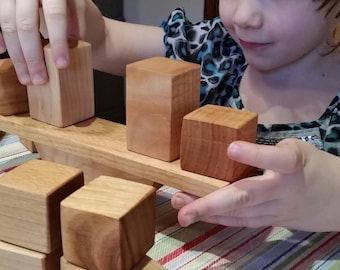 Balance Toy and Block Set, Educational Toy, wooden toy, kids gift set, Eco-friendly toy, learning toy, Stacking toy