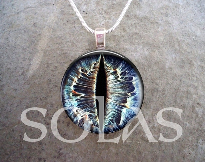 Dragon Eye Jewelry - Glass Pendant Necklace - Dragon Eye 42