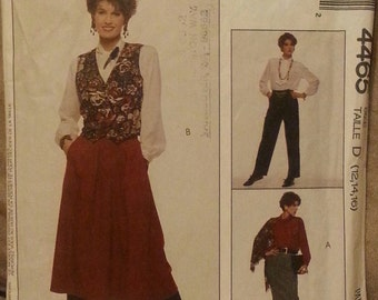 Vintage Sewing Pattern Easy McCall's 4465