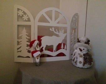 Christmas room divider