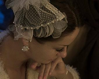 Bridal hair piece, Bride hair accessory,Wedding hair piece
