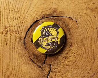 "Hufflepuff (1-1/4"" Pinback Button or Magnet)"
