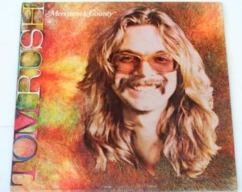 "Tom Rush - Merrimack County - ""Jamaica Say You Will"" - ""Mink Julip"" - Folk Rock - Columbia 1972 - Vintage Gatefold Vinyl LP Record Album"