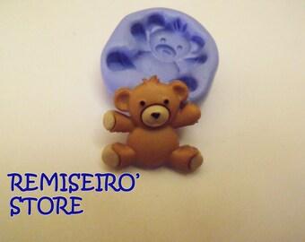 Small bear, teddy bear, brown teddy bear 20 mm