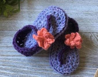Girl Crochet Sandals; Baby Crochet Sandals; Girl Sandals; Girl Shoes; Toddler Crochet Sandals; Flower Sandals; Girls Flower Shoes