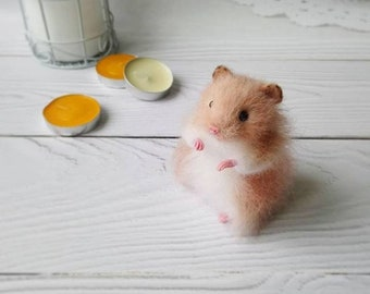Hamster toy doll pet animal