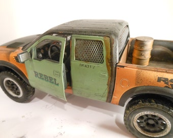 Rat Rod, Rusted, Scale Model Car , Classicwrecks,Road Warrior,Diecast,WarHammer