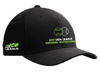 2017 USTA National Invitational Flexfit Caps