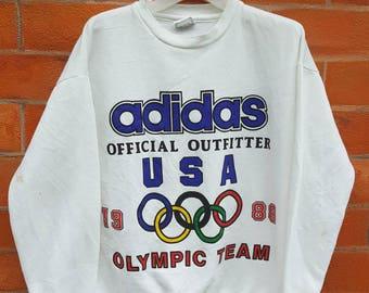 Vintage Adidas Olympic 1988 USA