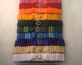 Ribbon Covers for Petsessories® Interchangeable Armbands.   Petsessories® Interchangeable Armbands sold separately.
