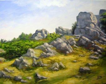 Bethel 11x14 Original Landscape Oil Painting on Canvas