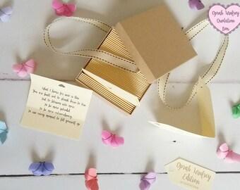 Oprah Winfrey Quotes - Box of 50 Handmade Quotations