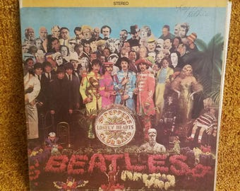 Vinyl: Beatles,  Sgt. Pepper's Lonely Hearts Club Band, Free Shipping