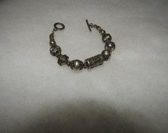 Bali Silver Beads Bracelet