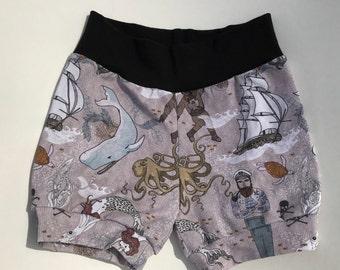 nautical shorties, mustache shorties, whale shorties, ocean shorties, baby boy shorties, baby boy shorts, baby boy summer, beach shorts