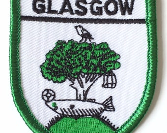 Glasgow Embroidered Patch