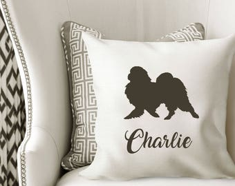 Personalized JAPANESE CHIN Pillow Cover