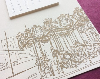 DUMBO Cityscape Postcard Calendar
