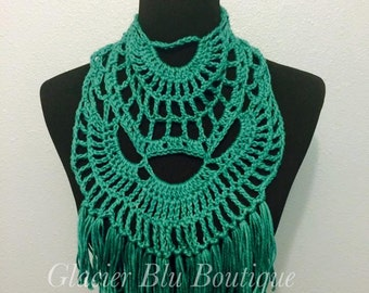 PDF PATTERN: Dream Catcher Scarf