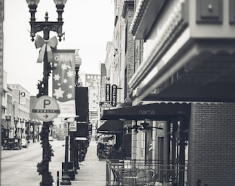 Home Decor, Black and White Photography, Knoxville, Downtown Knoxville, TN, Fine Art Photography, Tennessee, Knoxville, Home town