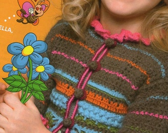 The Wood Princess Sweater for Baby Girls