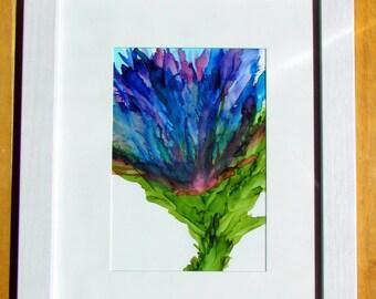 Springtime Bouquet, Painting, Flower Painting, Original Art, Floral Painting, Framed Art, Abstract Art, Modern Art, 8x10 Wall Art, Flowers